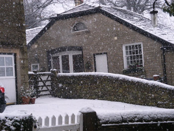 The Coach House in Winter