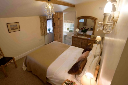 The Hayloft double bedroom