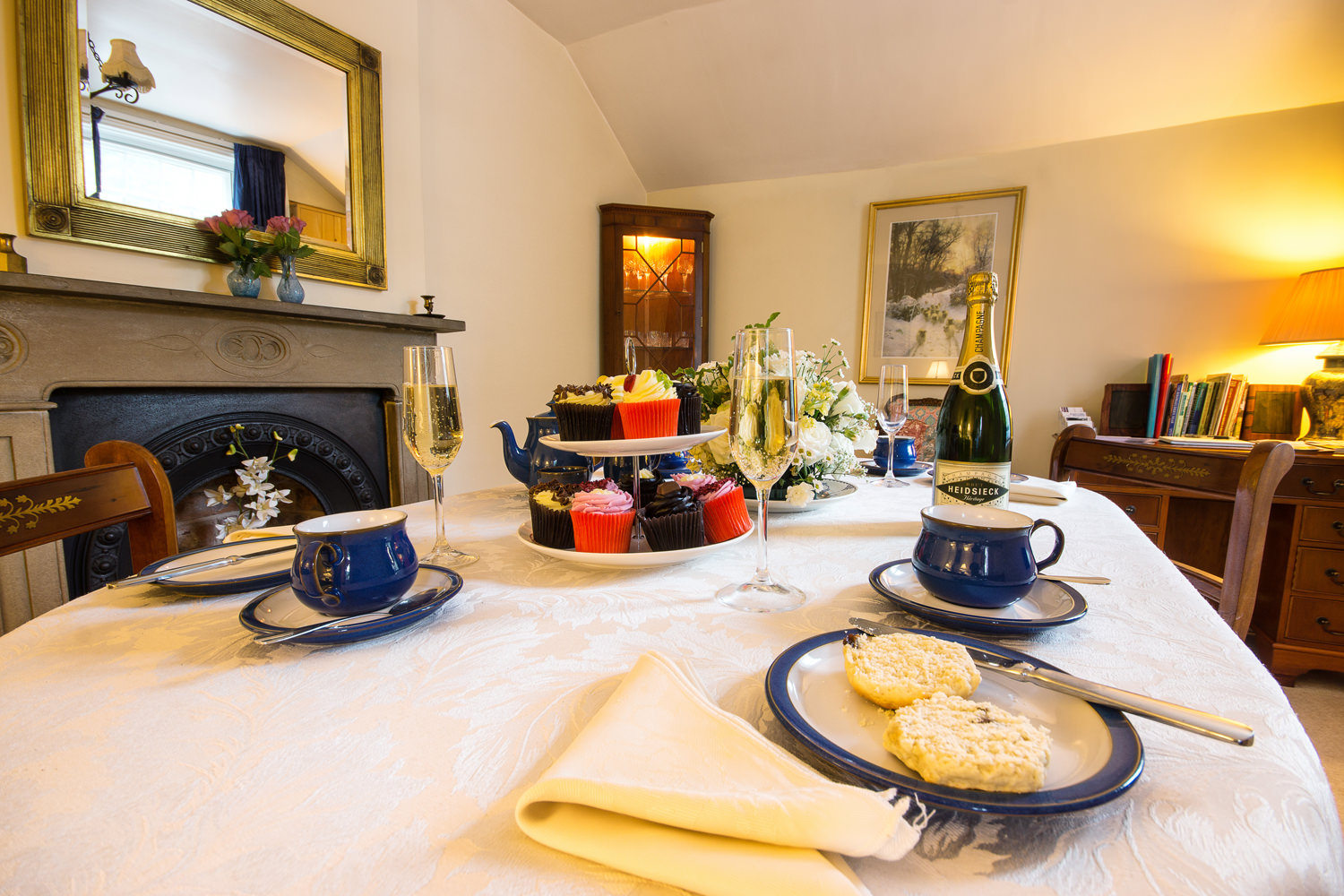 Afternoon Tea in The Coach House