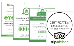 Tripadvisor Certificates