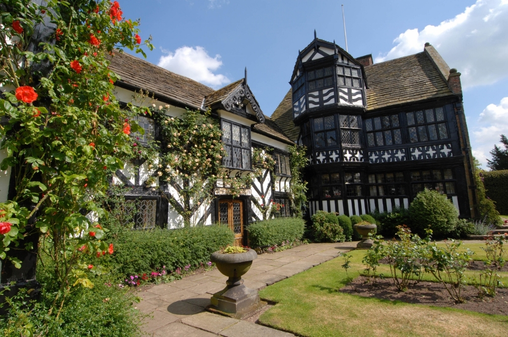 Gawsworth Hall, privately owned stately home in Cheshire