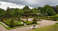 Tatton Park, historic estate with Tudor hall, neo-classical mansion, lavish gardens, a deer park and playground.