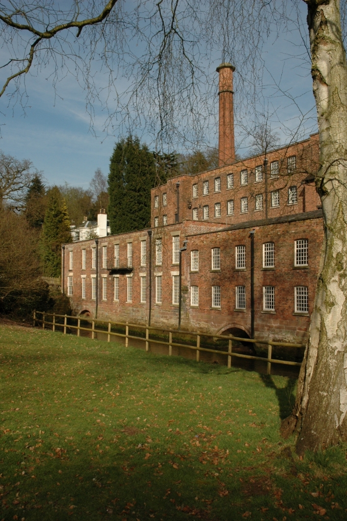 Quarry Bank Mill in Styal, Cheshire, England, is one of the best preserved textile mills of the Industrial Revolution and is now a museum of the cotton industry.