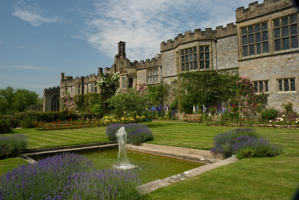 A stunning English Tudor and country house in Derbyshire.  Home to the Manners Family, Haddon Hall is one of England's finest examples of a medieval manor.