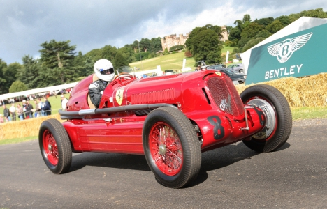 The Cholmondeley Pageant of Power, held annually on the picturesque Cholmondeley Castle estate near Chester