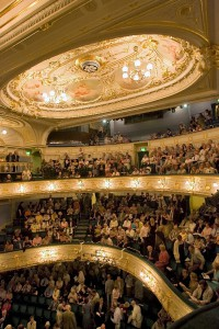 Interior view of Buxton Opera House.