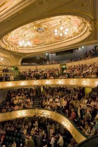 Interior view of Buxton Opera House.