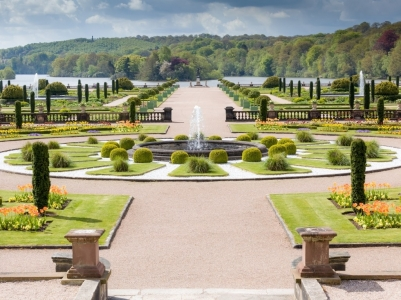 Trentham Estate is located near the village of Trentham, A visitor attraction in Stoke-on-Trent in Staffordshire