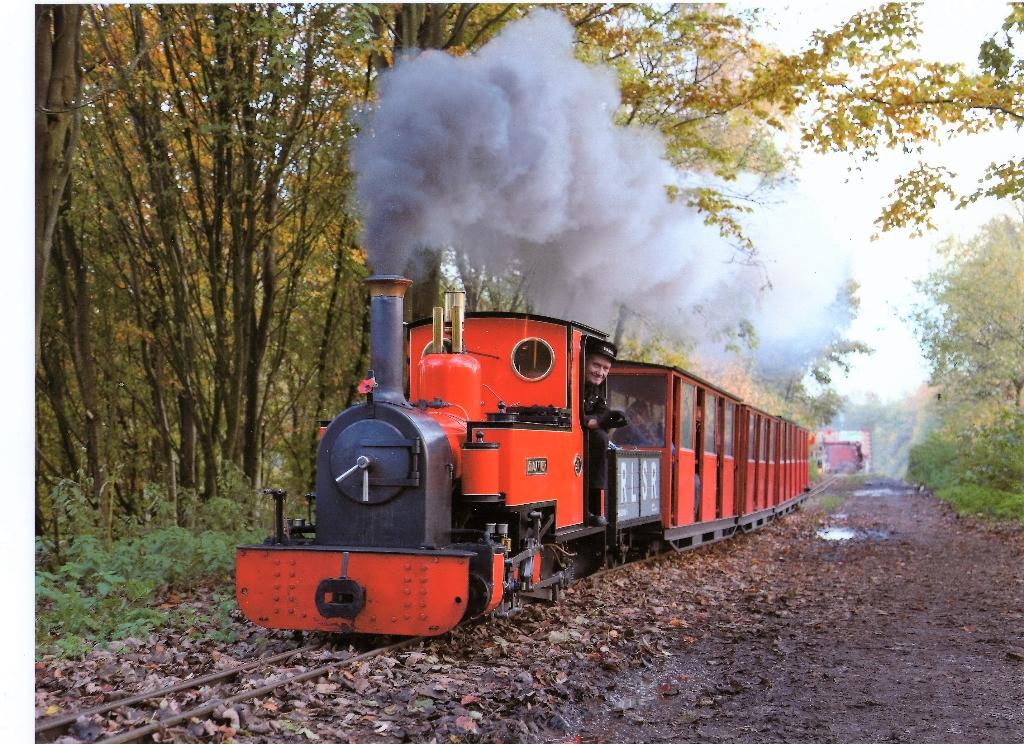 Rudyard Lake Steam Railway, located near Leek alongside Rudyard Lake