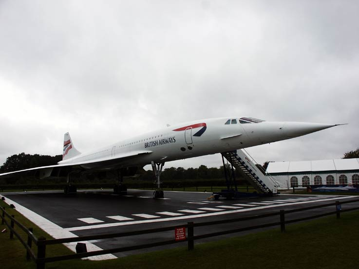 Concorde, discover the enduring legacy of the flagship BA creation in G-BOAC Concorde