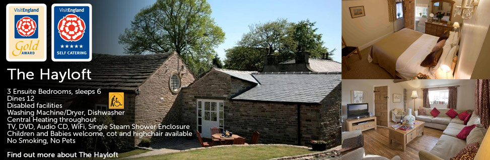 The Hayloft Holiday Cottage Cheshire