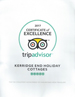 Tripadvisor, Certificate of Excellence 2015