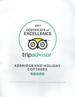 Tripadvisor, Certificate of Excellence 2015